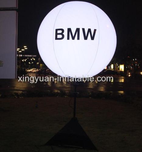 Adjustable tripod led stand balloon for advertising