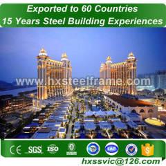 worldwide steel buildings and steel building packages low-cost to Macau market