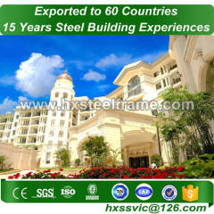 pre built buildings and steel building packages multi-span superiorly welded