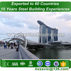 modular building construction by heavy Steel frame and built up steel on good price