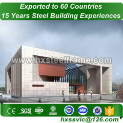 light steel frame building and steel building packages with ISO CE welding