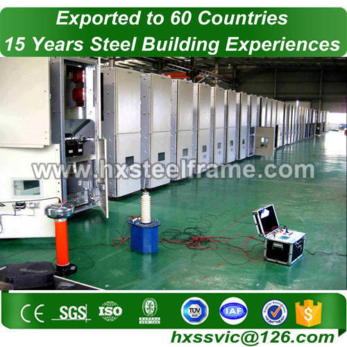 steel portal frame construction and steel structure fabrication best-selling