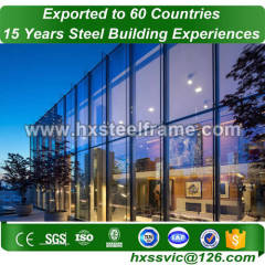 structural steel construction and steel building packages of energy efficient