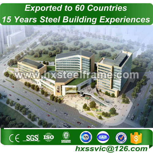 steel structure construction and steel building packages with quick delivery