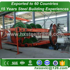 steel structure section and steel structure fabrication excellently processed