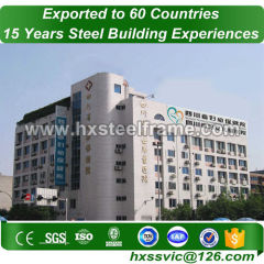 30x50 metal building and steel building packages of three story sale to Luanda