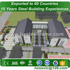 metal building shop and steel building packages outdoor hot selling at Ankara