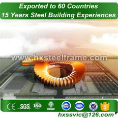 round metal buildings and steel building packages SGS certified sale to Egypt