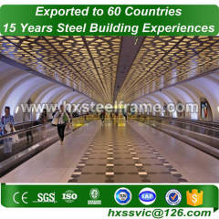30x30 metal building and steel building packages large-Span export to Athens