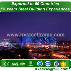 frame structure building made of steel fame recyclable sale to Phnom Penh
