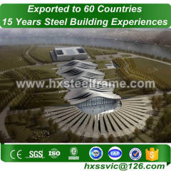 40x60 building made of structural steel works new-designed export to Asmara