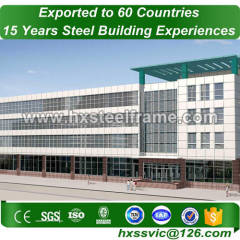 modern steel buildings made of Primary steel easy to assembly expertly erected