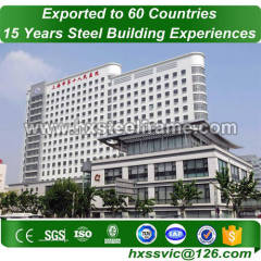steelstruct formed metal frame buildings with cheap price for Cameroon client