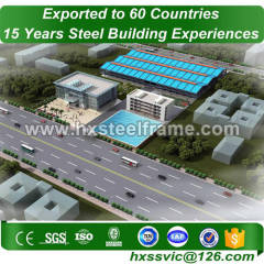 steelstructures formed 50x50 steel building large-Span export to Lilongwe