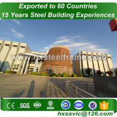 50x60 metal building made of steel fame with nice price installed in Belize