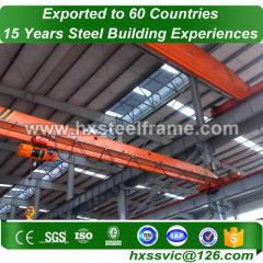 structual steel formed metal buldings BV verified sale to Bern