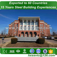 steel buliding made of built-up steel beam of factory price for Dhaka client