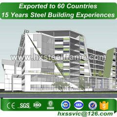 metal bulding made of steel a frame BV verified for project in Tegucigalpa