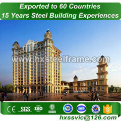 steel bulding made of mild steel frame with factory price hot sale in Tirana