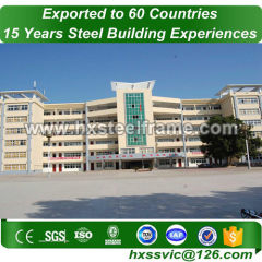 pre fabricated metal buildings made of steelstructures outdoor provide to Asia