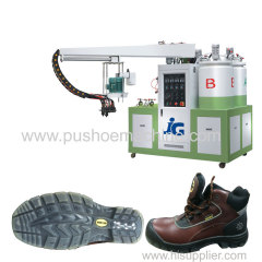 pu slipper foam injection machine