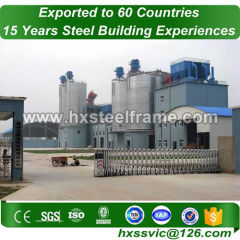 structural stee formed 50x40 metal building to Germany standard sale to Norway