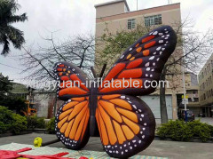 Giant butterfly inflatable model for advertising