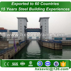 structural steel connections formed 40x60 building AWS welding sale to Somalia