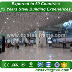 sttel frame and light steel structure with professional design export to Dubai