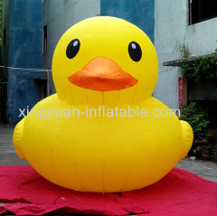 Yellow Giant inflatable duck for advertising