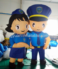 Giant policeman inflatable model for sale
