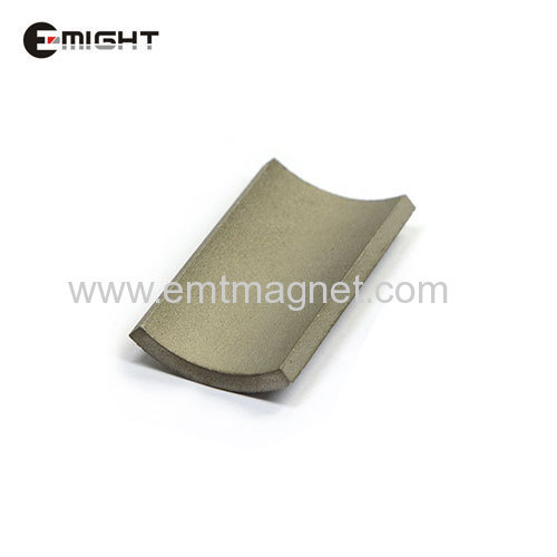 Sintered SmCo Permanent Magnets segment XGS30H