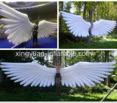 Giant inflatable wings costume