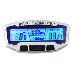 LCD Backlight Computer Odometer