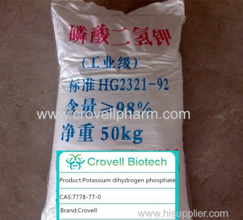 POTASSIUM DIHYDROGEN PHOSPHATE cas7778-77-0 factory supply