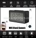 Wifi alarm desk clock spy hidden camera with night vision
