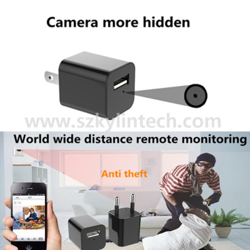 1080P wall charger wifi hidden camera