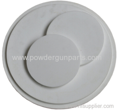 POWDER HOPPER FLUIDIZING MEMBRANE