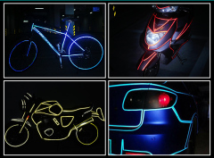 Bike Flurescent Decal Tape Safety Accessories