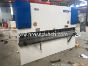 NC Hydraulic press brake 100t/3200mm exported to Vietnam