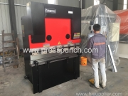 63t/1600mm CNC Press brake exported to Thailand agent place