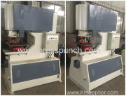 UAE customer order 160Ton hydraulic hole punching machine