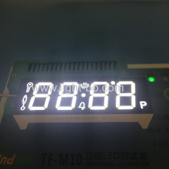white led display;oven display;oven timer display; white oven display