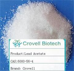 Lead Acetate CAS: 6080-56-4 C4H6O4Pb Lead acetate trihydrate good package products
