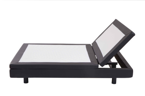 head and foot up and down controlled by wired or wireless remote as customized adjustable cinema design bed frames