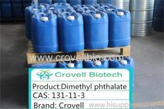 Factory suppliy Crovell Brand Dimethyl phthalate (DMP) Cas No.:131-11-3Color:Colorless liquid