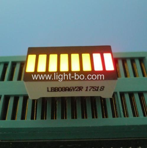 Multicolour 8 segment led light bar for instrument panel