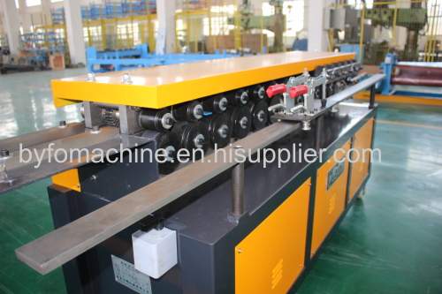 T12/T15 flange and clip making machine,Duplex tdf flange machine,pipe clamp forming machine for air duct