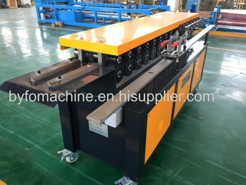 Squre duct flange forming machine