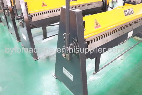 hvac duct manual sheet metal tdf folding machine